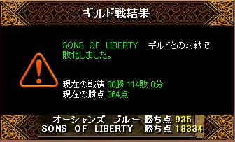 2月14日「SONS OF LIBERTY」