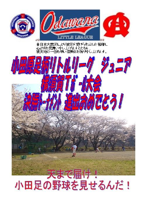 横須賀Tボール決勝トーナメント