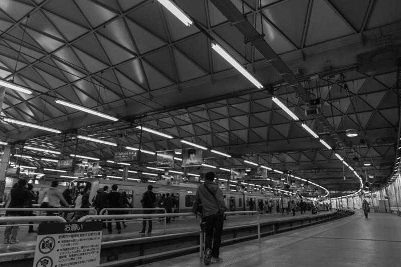東急東横線、旧渋谷駅(1)