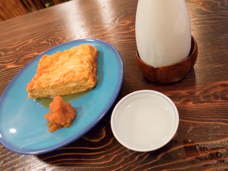 赤坂「室町 砂場」、飲みスタイル