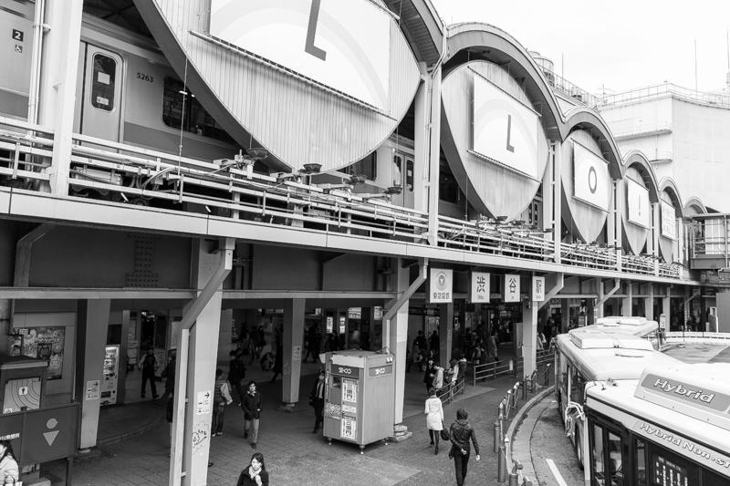 東急東横線、旧渋谷駅(2)