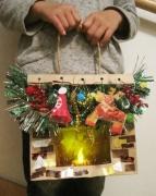 クリスマス工作写真
