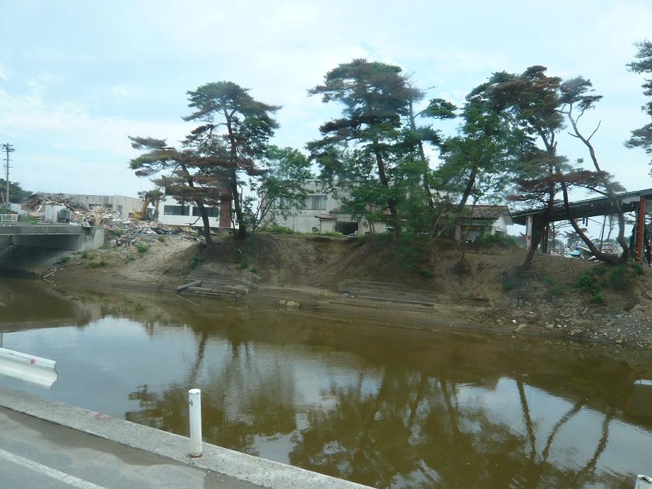 東松島あたりの被災地
