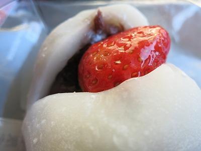 純生クリームイチゴ大福 (3)