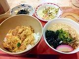 20130110_親子丼ミニ若布そば