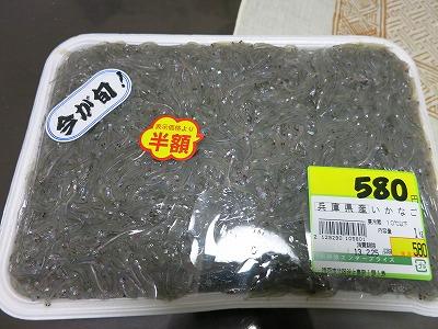 いかなごくぎ煮 (1)