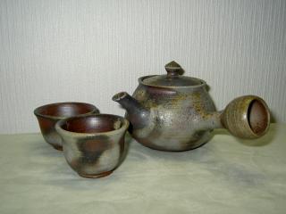 備前焼煎茶セット