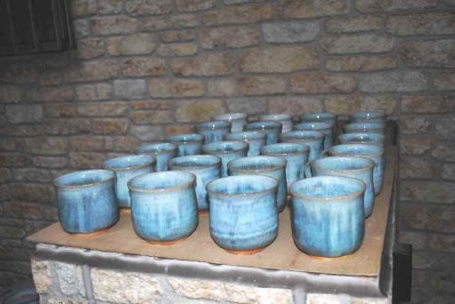 コーヒーカップ(青)