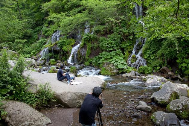 吐龍の滝3