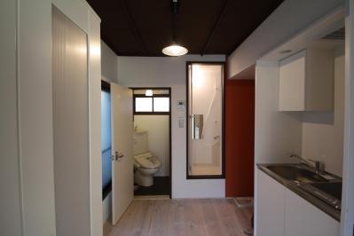 202号室キッチンバストイレ