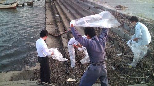 山口県央商工会阿知須支部 青年部 クリーンアップ活動