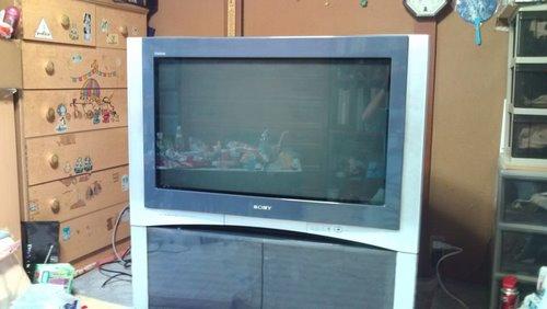 36型ブラウン管テレビ