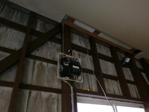 山口市阿知須 200V専用回路増設 電気工事