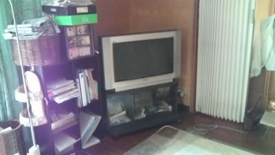 ブラウン管テレビ2