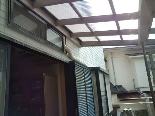 山口市阿知須 N様邸 日立エアコン 白くまくん RAS-SX25A 取付工事