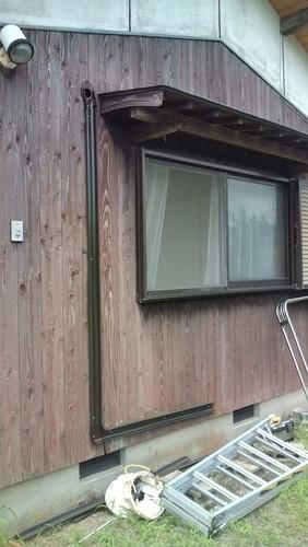 山口市阿知須 O様邸 日立エアコン RAS-VJ25A 取付工事