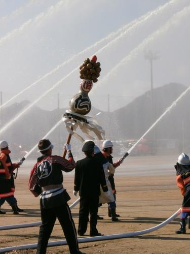 平成24年度 山口市消防出初式