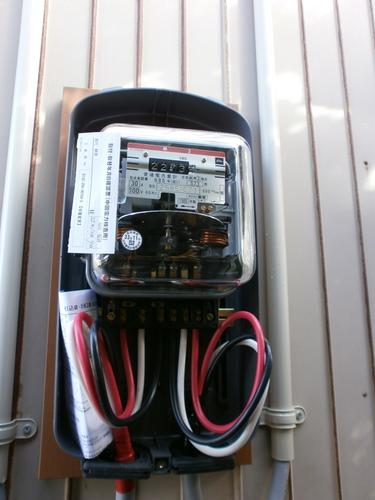 山口市阿知須 N様邸 電気容量アップ工事