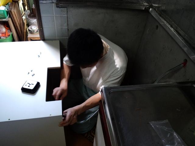 山口市阿知須 N様邸 パナソニック IHクッキングヒーター取付工事