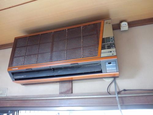 山口市阿知須M様邸 一押し 日立エアコン 白くま君 RAS-SX40A2 取付工事
