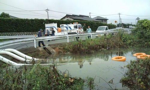 山口市消防団阿知須方面隊 2009年豪雨災害出動記録7