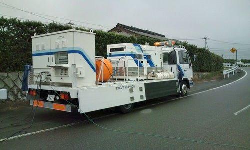 山口市消防団阿知須方面隊 2009年豪雨災害出動記録6