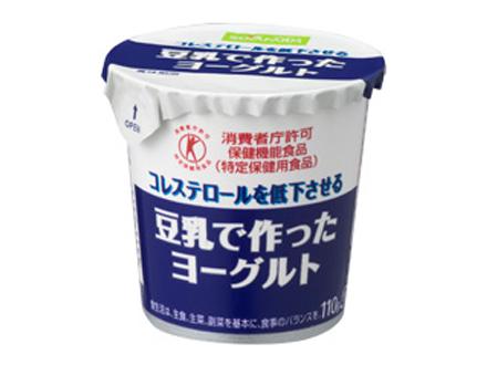 豆乳で作ったヨーグルト