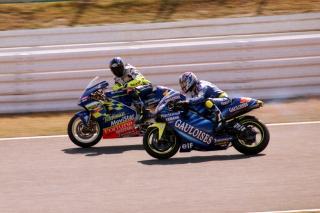 ロードレース世界選手権 Telefonica Movistar Suzuki & Gauloises Yamaha Tech 3