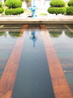 男川浄水場 急速ろ過池