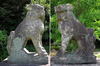 神明宮の狛犬