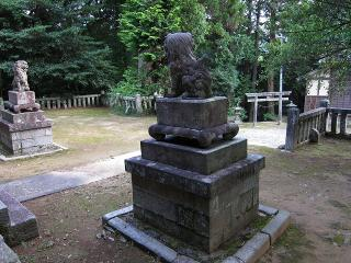 須佐之男神社の狛犬