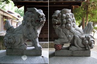 山神社の狛犬