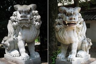 若宮社の狛犬