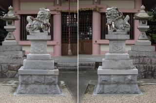 白鳥神社の狛犬