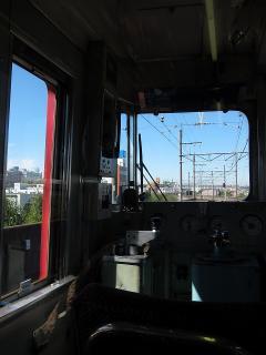名鉄 6600系から名古屋城