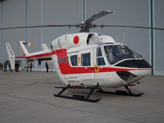 試験計測用航空機 川崎式 BK-117 A-4型