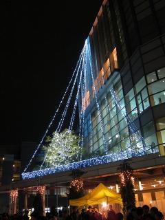 岡崎市シビックセンター イルミネーションコンサート