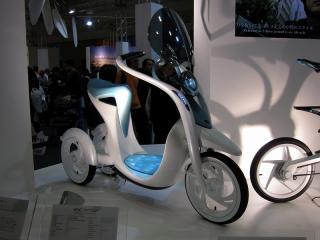 電動三輪バイク EC-Miu