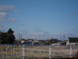 七宝町遠島八幡島の火の見櫓