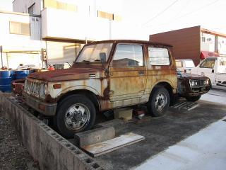 スズキ ジムニーの廃車