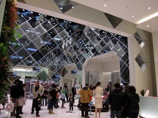 ガズーレーシング レクサスLFA 特別展示