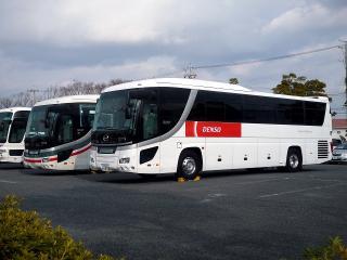 デンソーの送迎バス