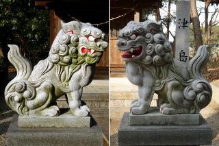 市杵島姫神社の狛犬