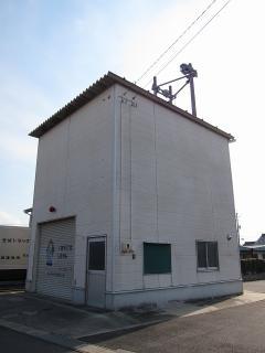 ホース乾燥塔