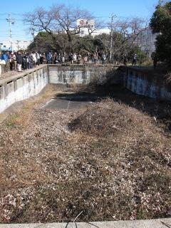 水槽(将校用プール)