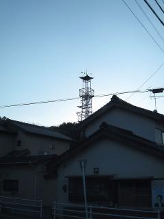 藤川町西町南の火の見櫓
