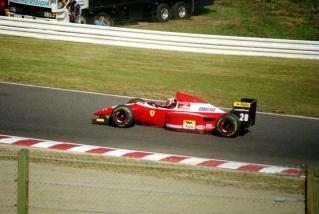 ゲルハルト・ベルガー Scuderia Ferrari
