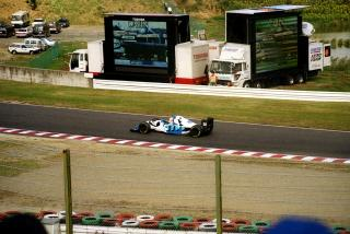マーティン・ブランドル Ligier Gitanes Blondes