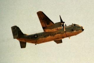 米海軍 第30艦隊兵站支援飛行隊(VRC-30DET5) C-2Aグレイハウンド