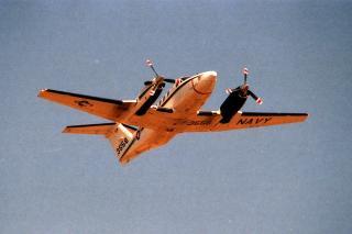 米海軍 UC-12Fキングエア
